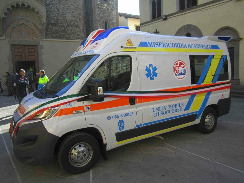 Ambulanza Misericordia Scarperia